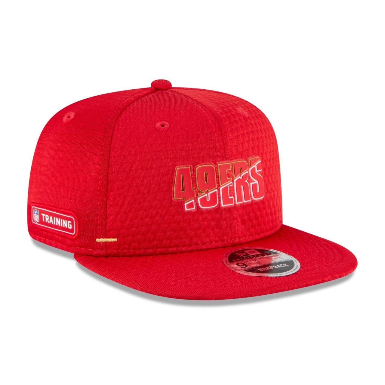 amfoo - New Era Snapback KINDER Cap - NFL CAMP San Francisco 49ers