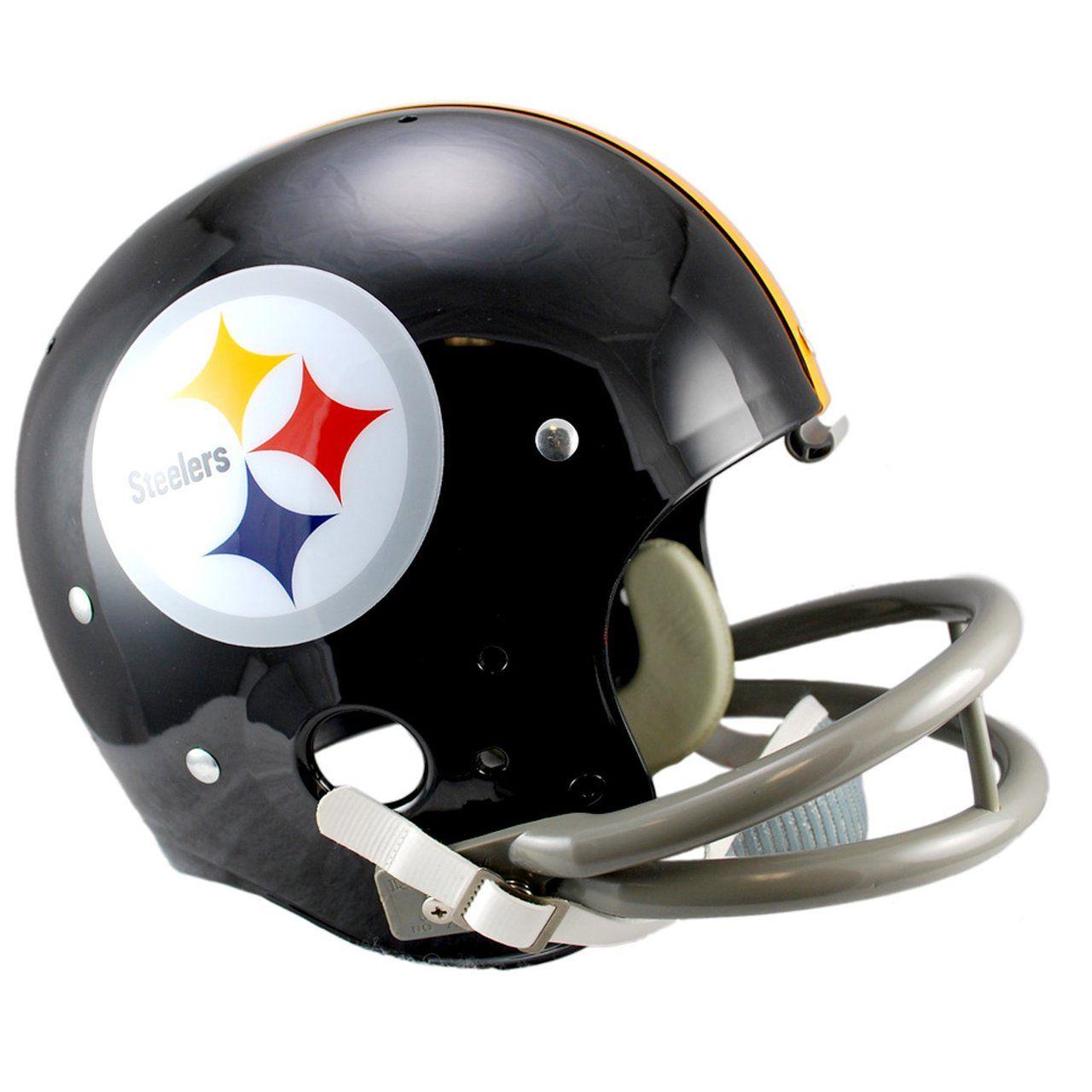 amfoo - Riddell TK Replica Football Helm - Pittsburgh Steelers 63-76