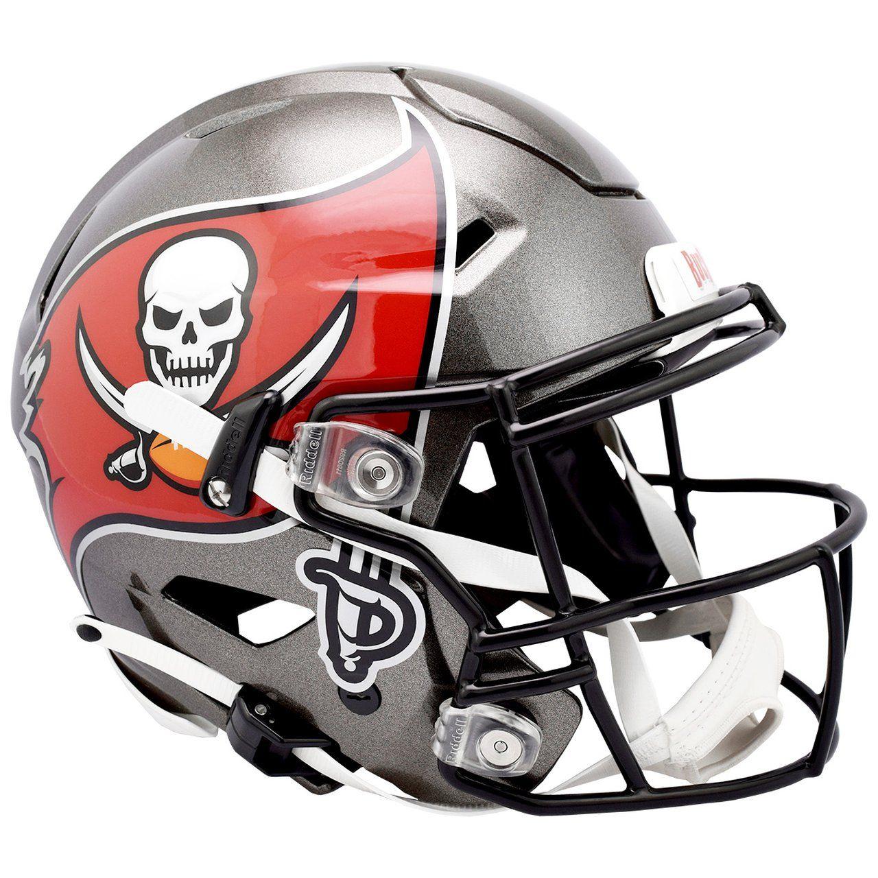 amfoo - Riddell Authentic SpeedFlex Helm - NFL Tampa Bay Buccaneers