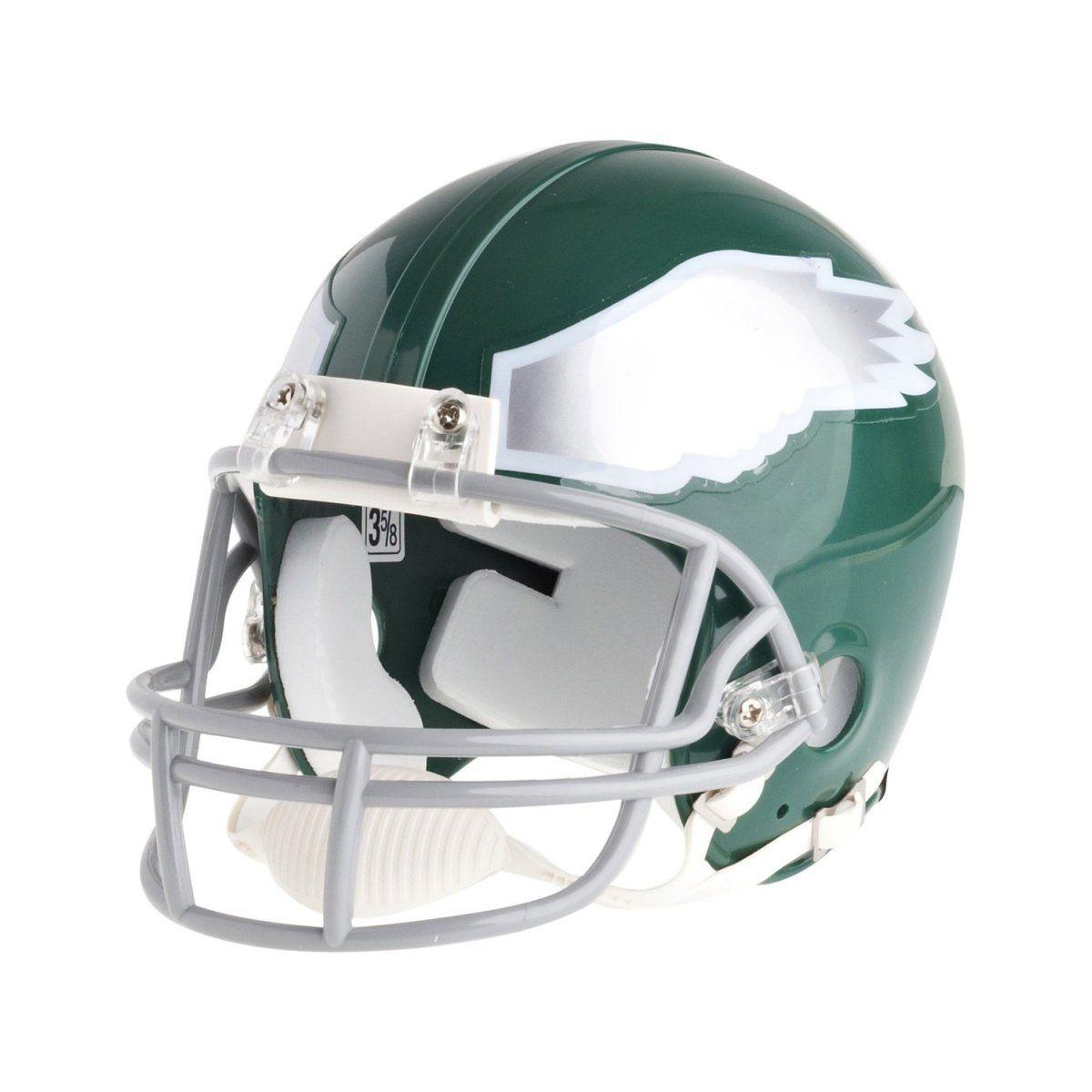 amfoo - Riddell VSR4 Mini Football Helm - Philadelphia Eagles 74-95