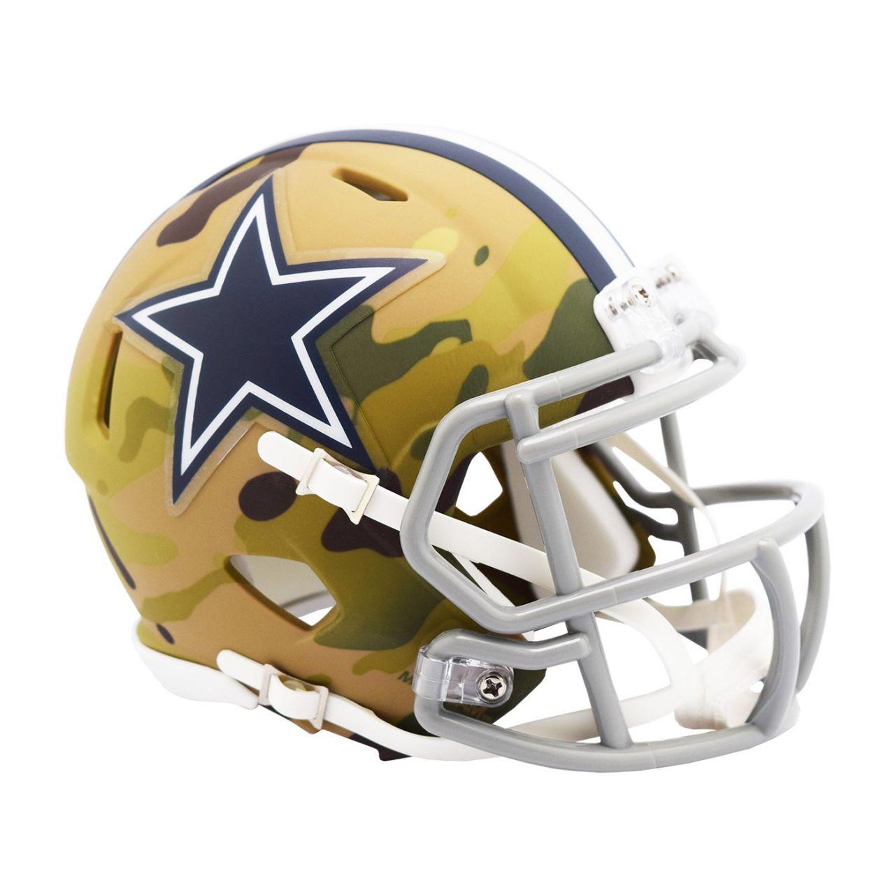 amfoo - Riddell Mini Football NFL Helm MULTICAM Dallas Cowboys