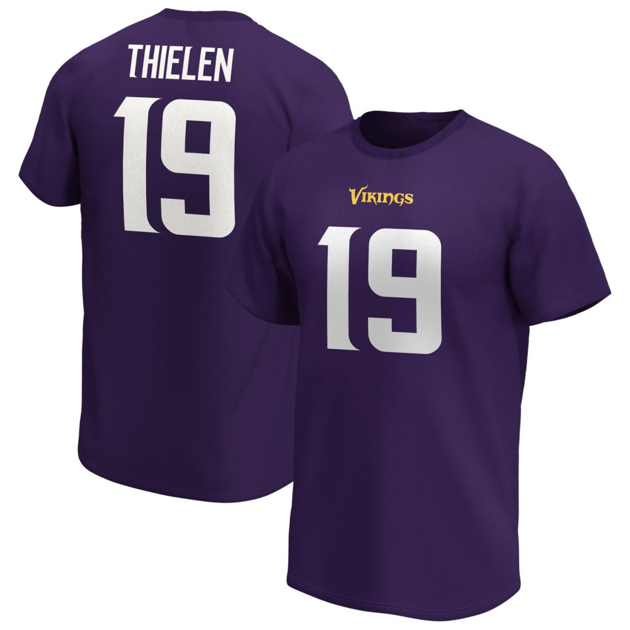 amfoo - Minnesota Vikings NFL Shirt #1 Adam Thielen