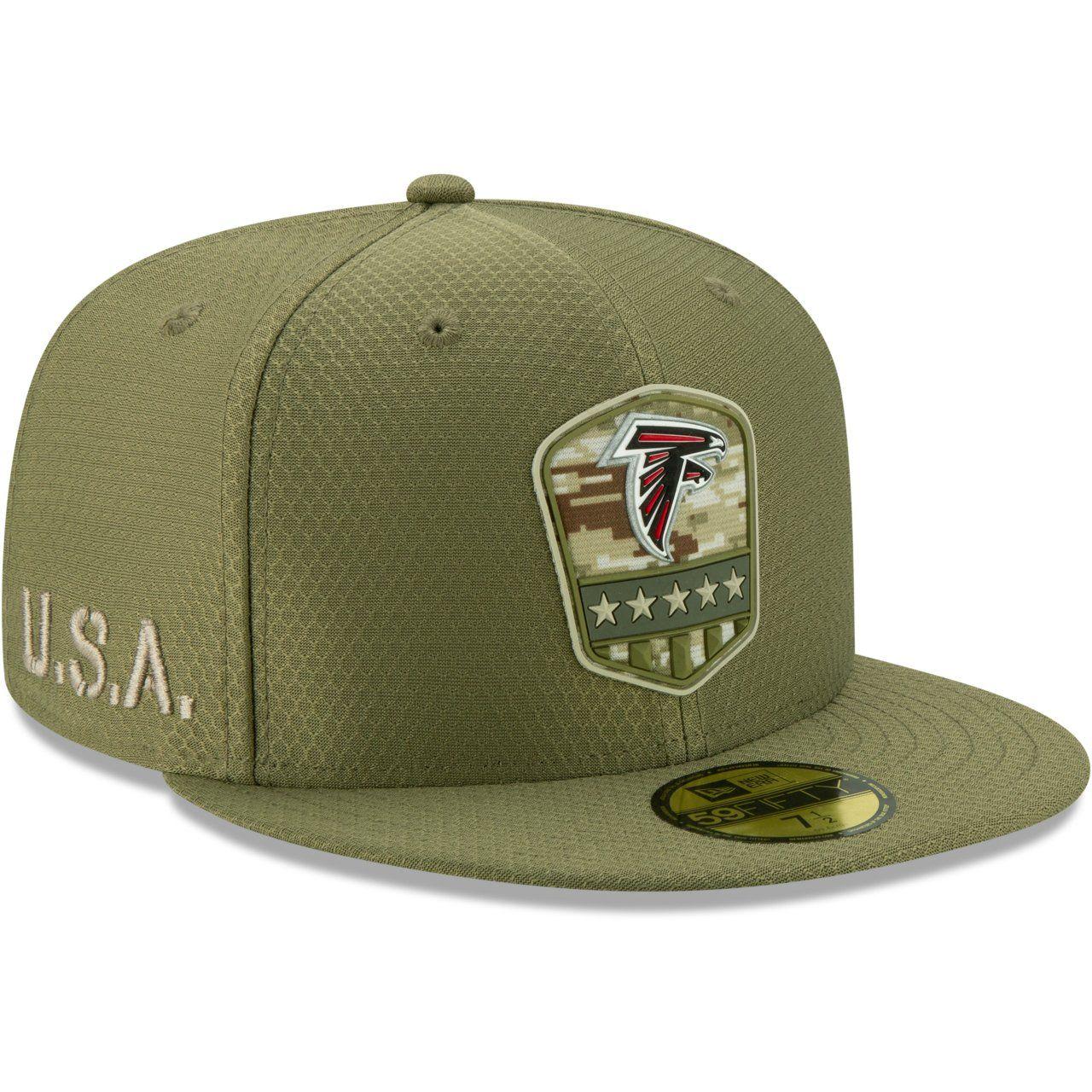 amfoo - New Era 59Fifty Cap - Salute to Service NFL Atlanta Falcons