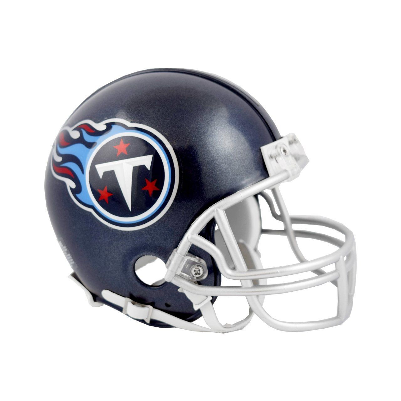 amfoo - Riddell VSR4 Mini Football Helm - NFL Tennessee Titans