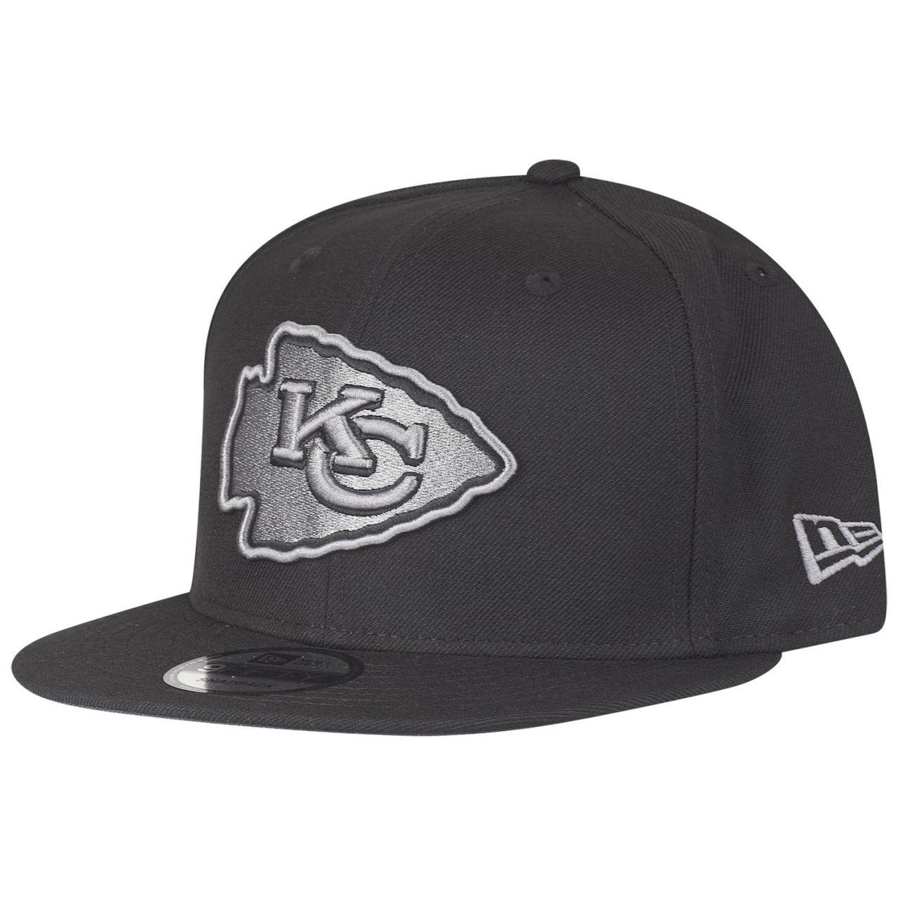 amfoo - New Era 9Fifty Snapback Cap - Kansas City Chiefs schwarz