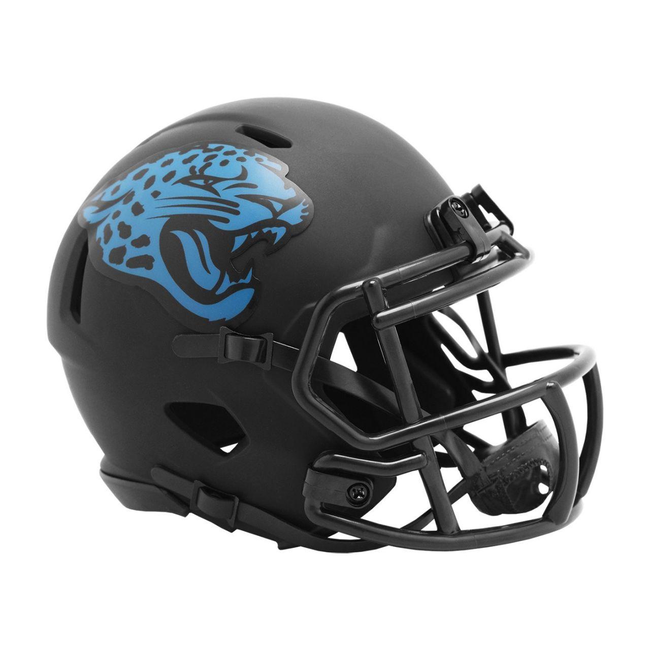 amfoo - Riddell Speed Mini Football Helm ECLIPS Jacksonville Jaguars