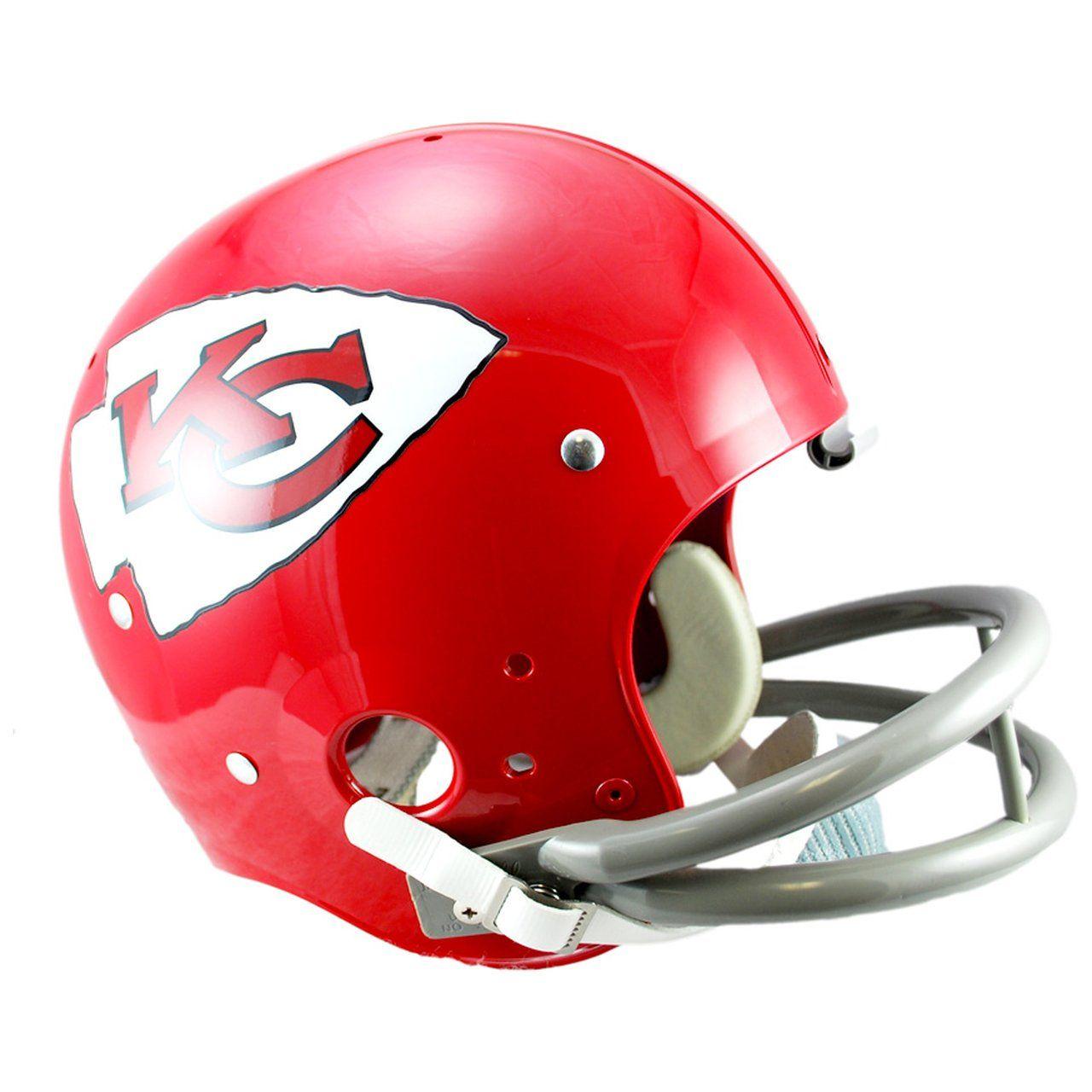 amfoo - Riddell TK Replica Football Helm - Kansas City Chiefs 63-73