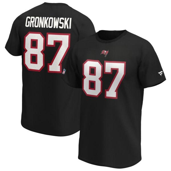 Tampa Bay Buccaneers NFL Shirt #87 Rob Gronkowski