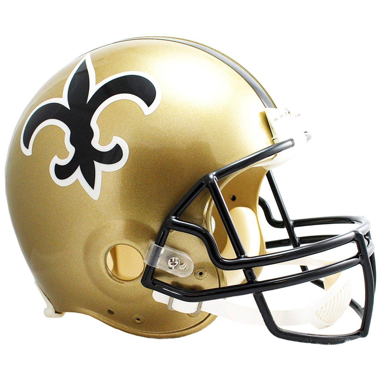 amfoo - Riddell VSR4 Replica Helm - New Orleans Saints 1979-99