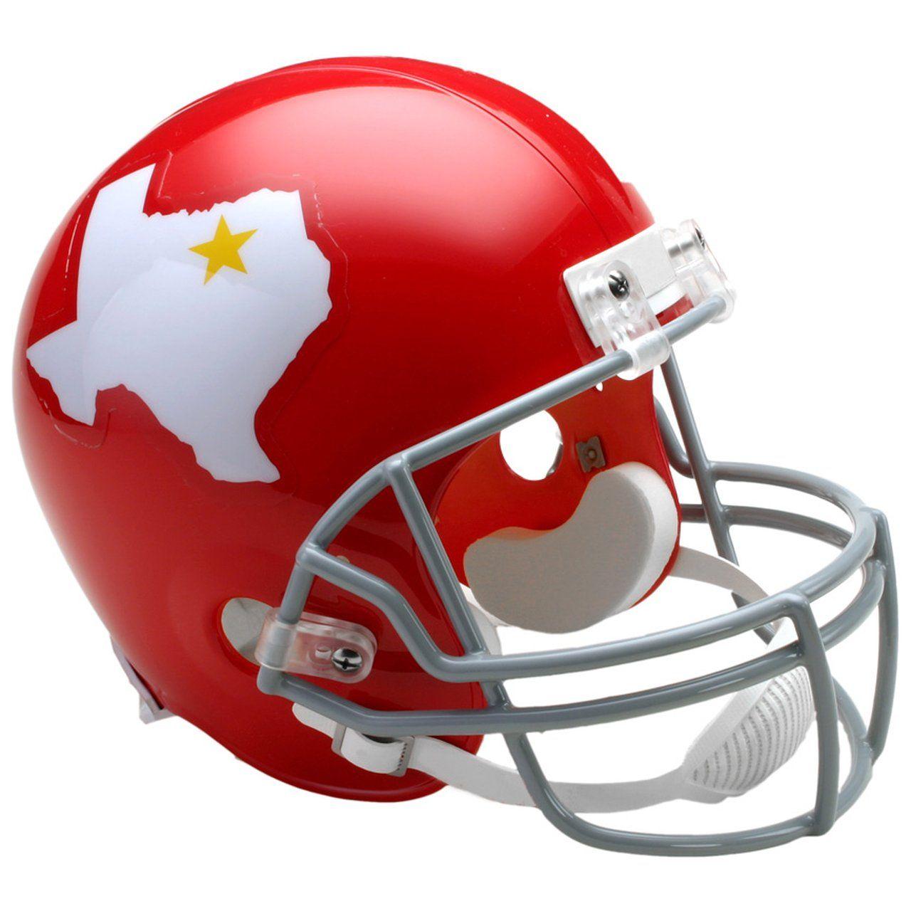 amfoo - Riddell VSR4 Replica Football Helm - Dallas Texans 1960-62
