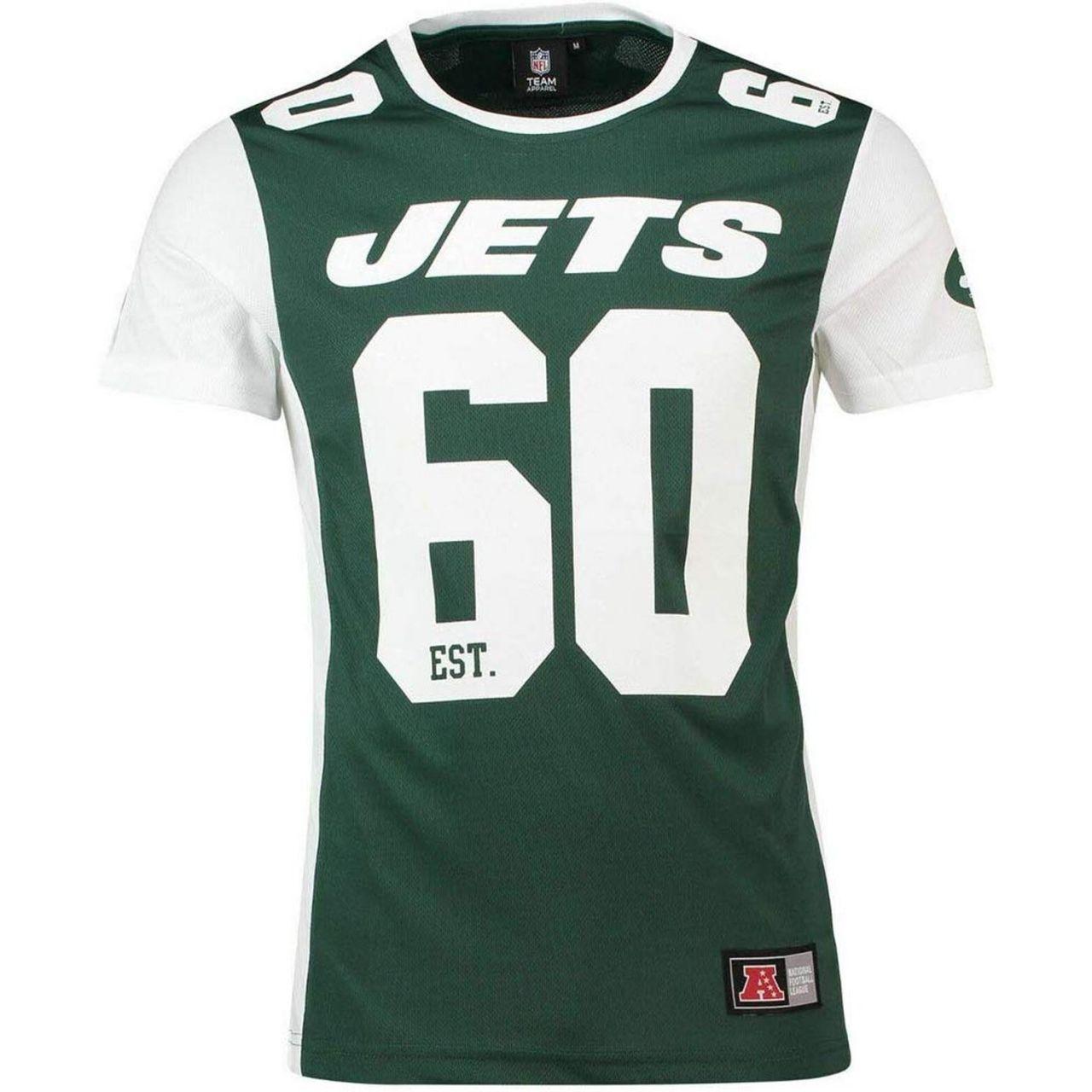 amfoo - Majestic NFL Mesh Polyester Jersey Shirt - New York Jets