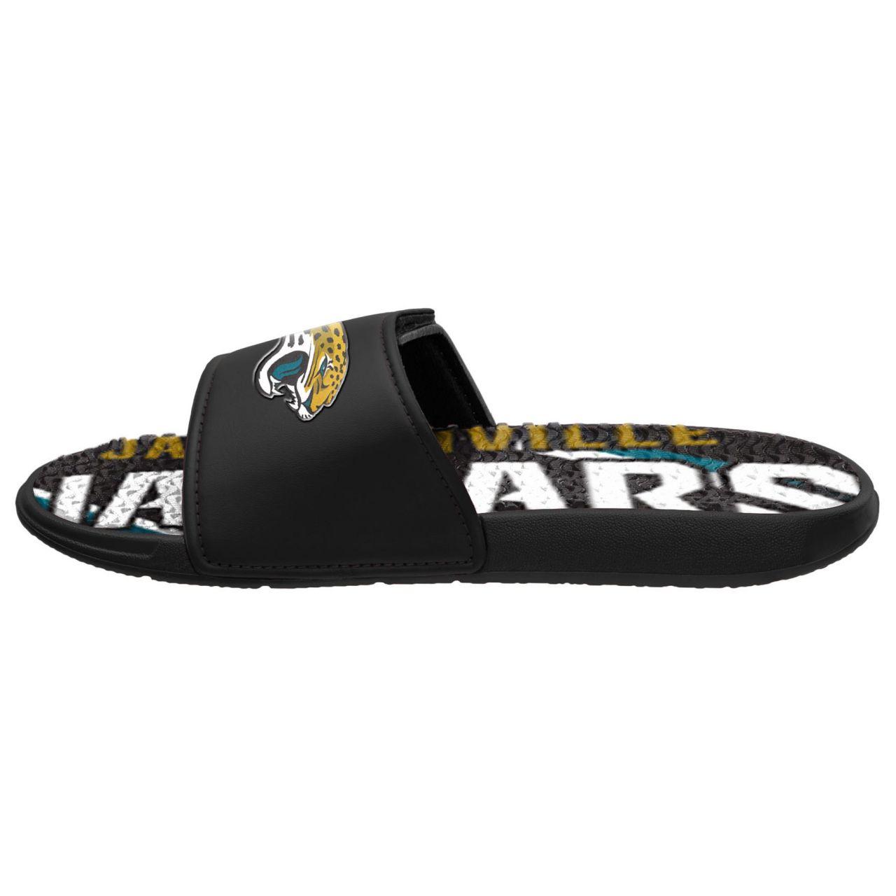 amfoo - Jacksonville Jaguars Badelatschen NFL GEL Sport Slides