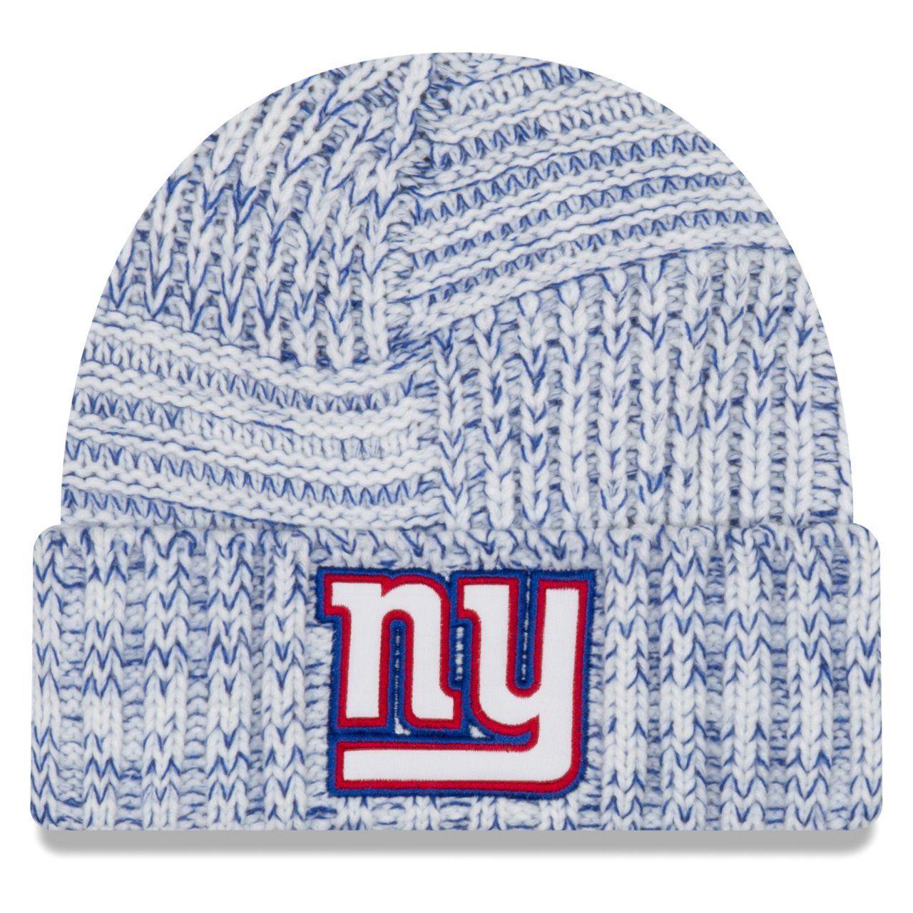 amfoo - New Era Sideline 2019 Damen Strick Mütze - New York Giants