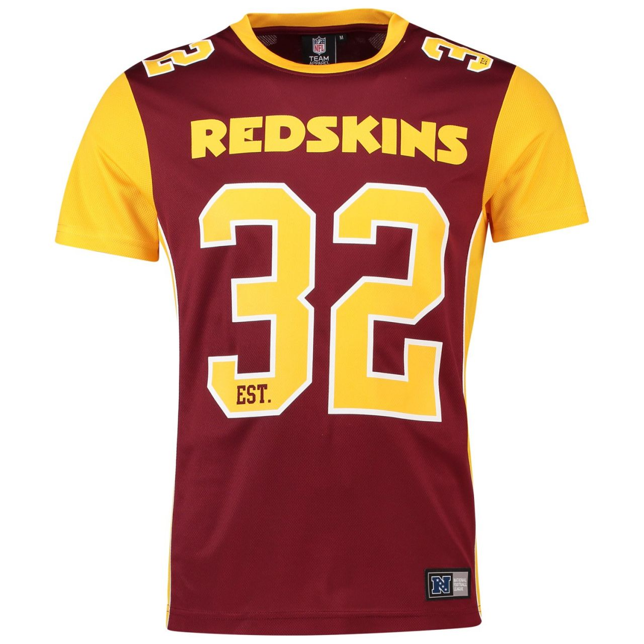 amfoo - Majestic Mesh Polyester Jersey Shirt - Washington Redskins