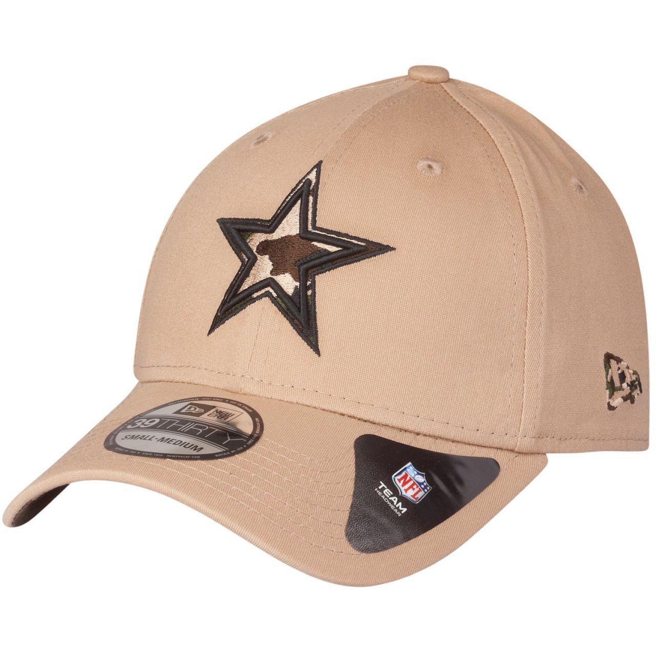 amfoo - New Era 39Thirty Stretch Cap - CAMO Dallas Cowboys