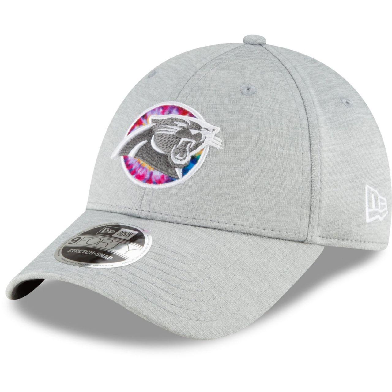 amfoo - New Era 9FORTY Stretch Cap - CRUCIAL CATCH Carolina Panthers