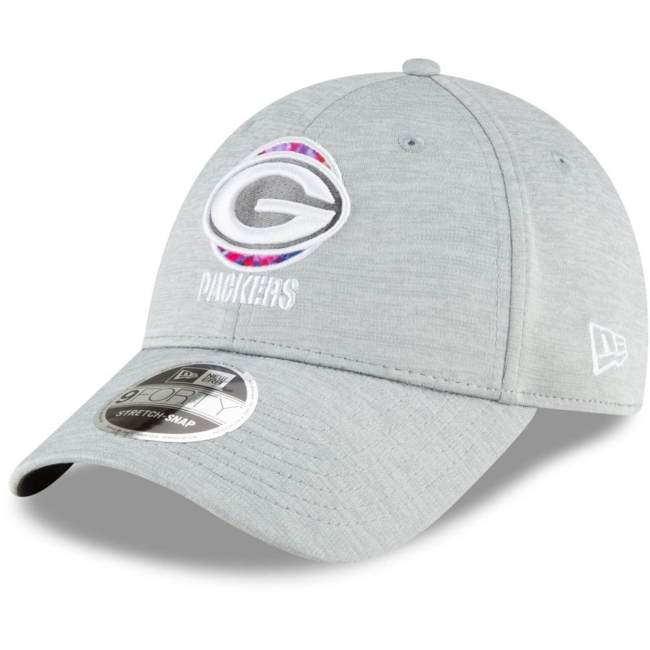 amfoo - New Era 9FORTY Stretch Cap - CRUCIAL CATCH Green Bay Packers