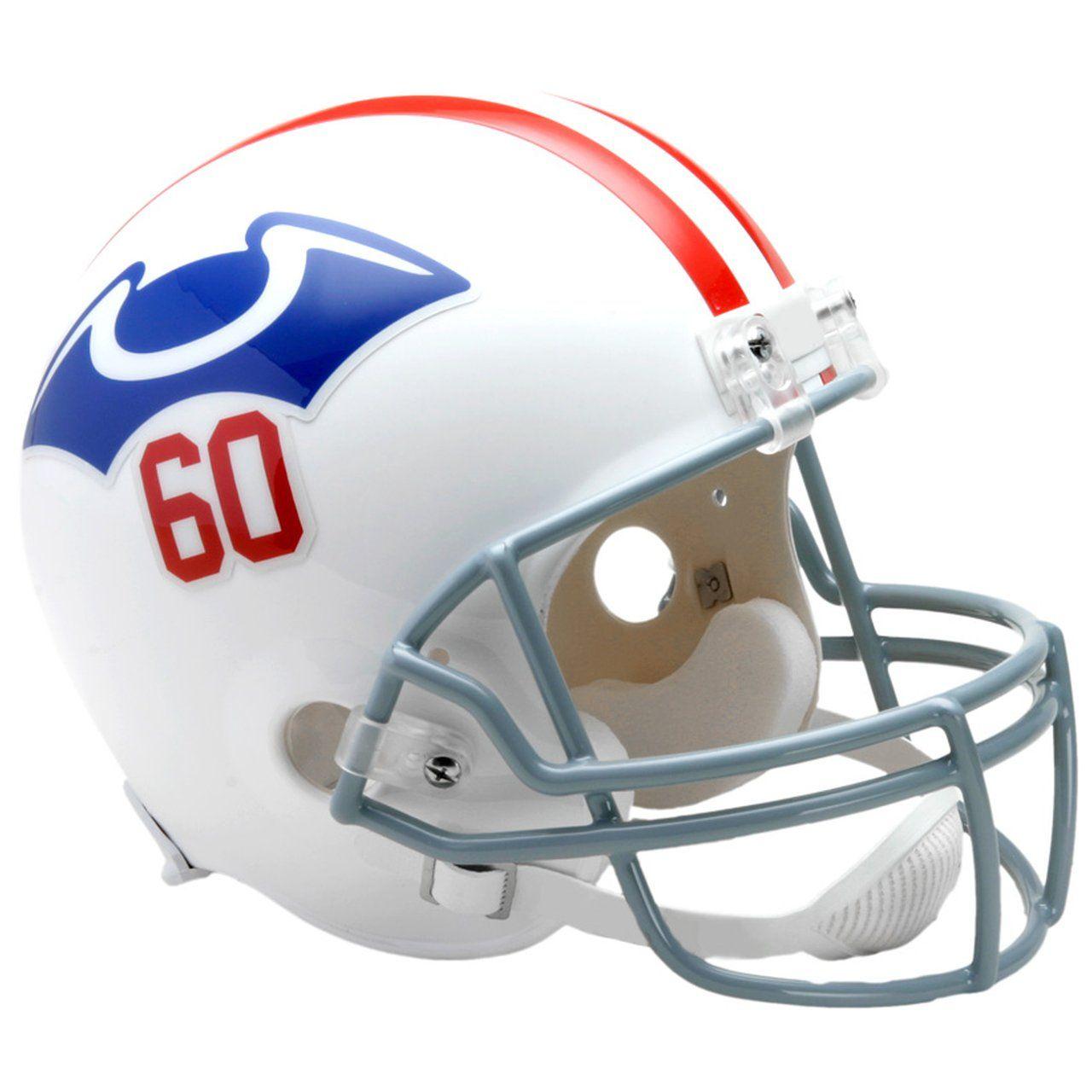 amfoo - Riddell VSR4 Replica Football Helm New England Patriots 1960