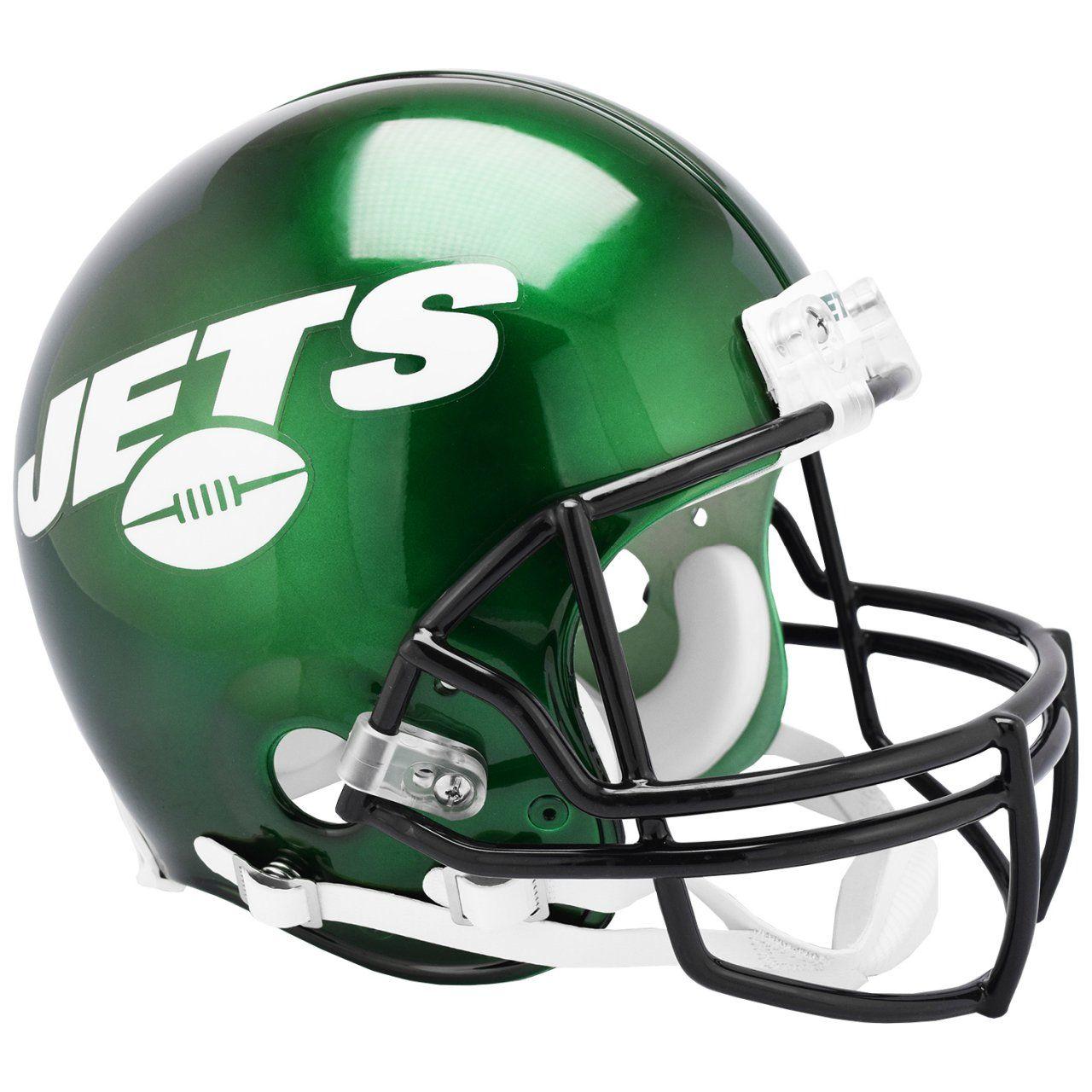 amfoo - Riddell VSR4 Authentic Football Helm - NFL New York Jets