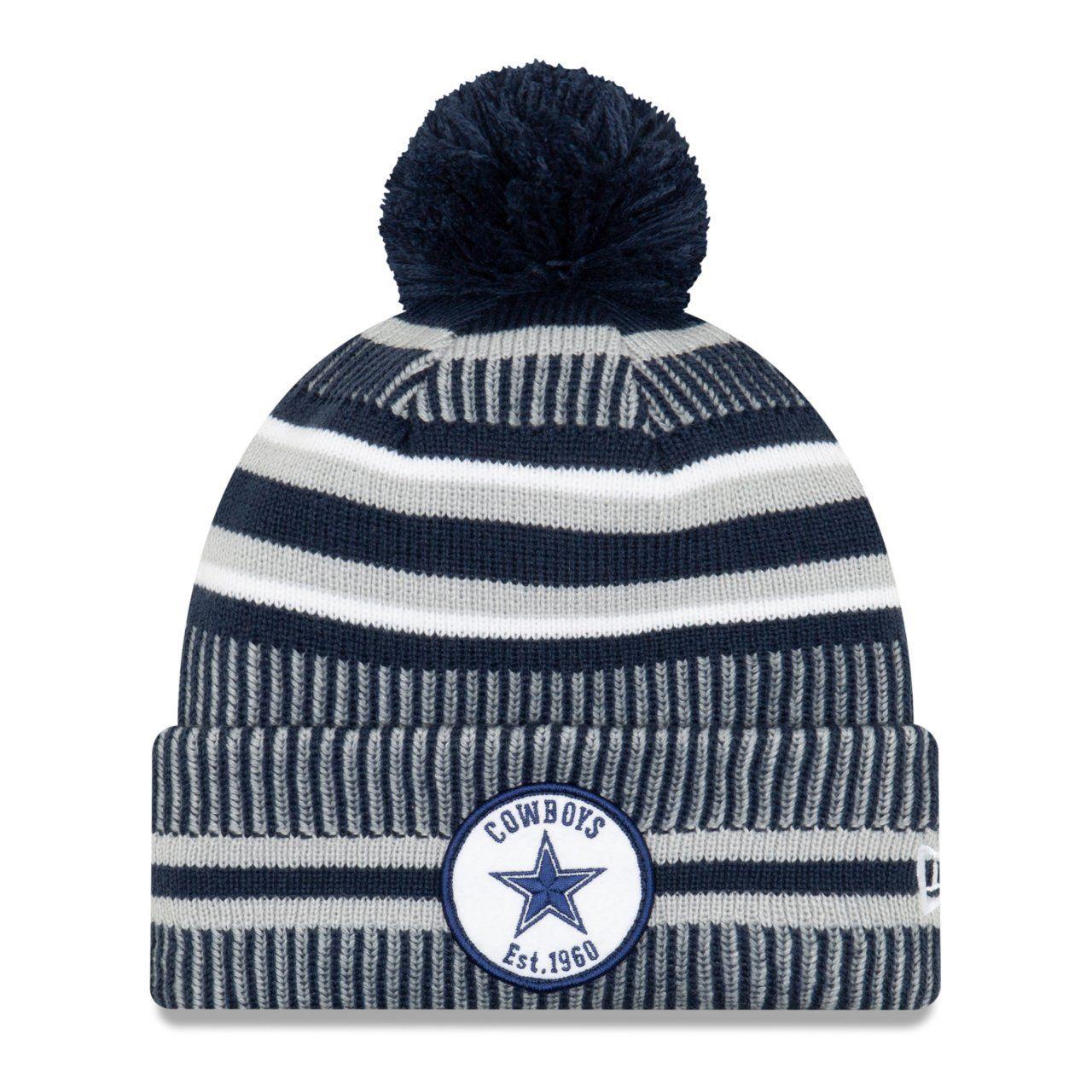 amfoo - New Era Sideline Bommel Kinder Youth Mütze Dallas Cowboys