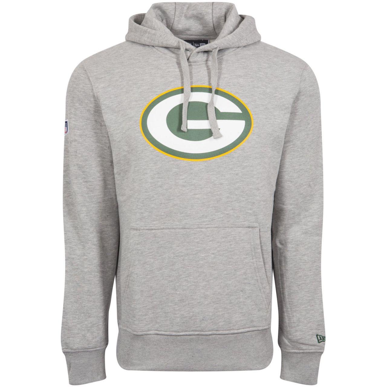 amfoo - New Era Hoody - NFL Green Bay Packers grau