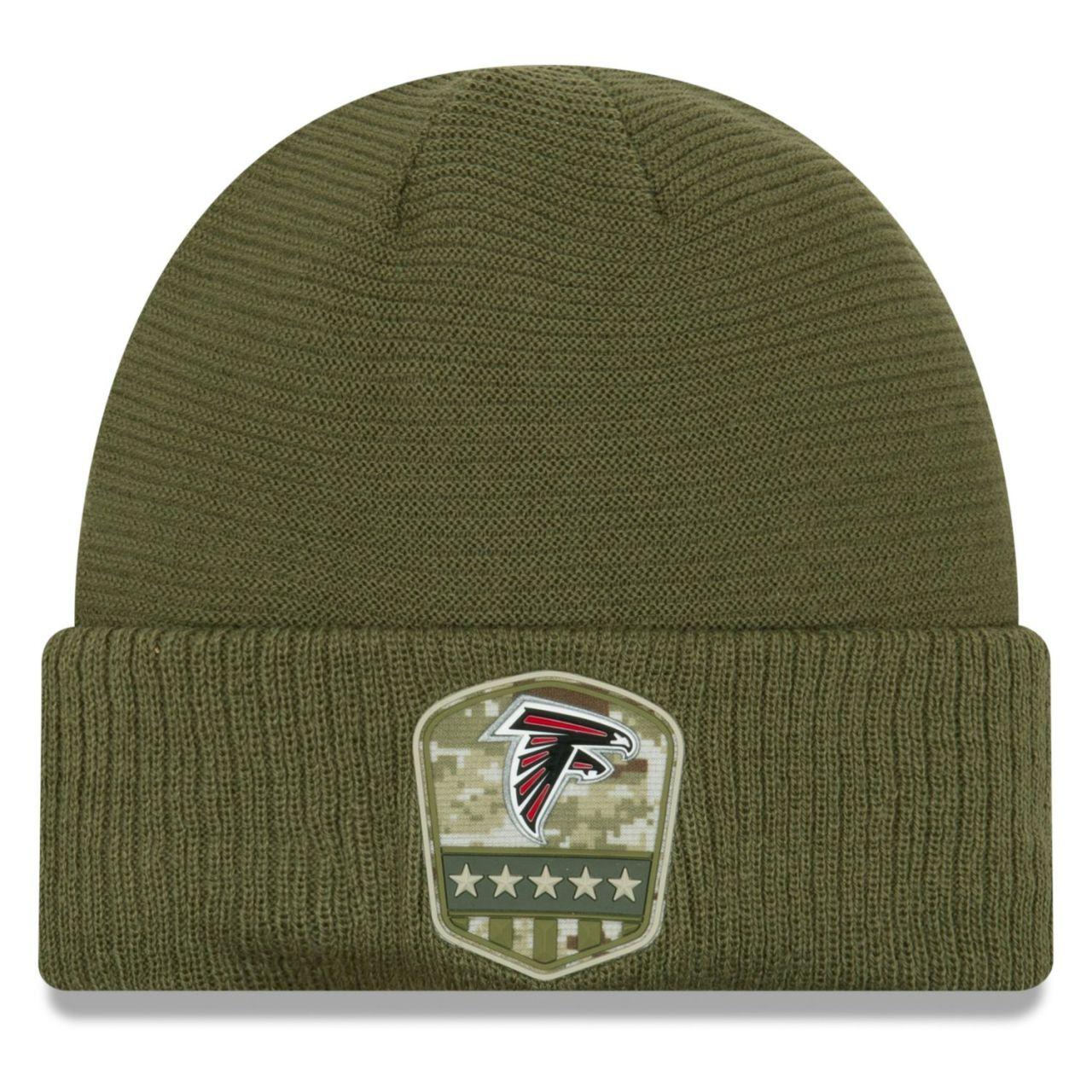amfoo - New Era Salute to Service Wintermütze - Atlanta Falcons