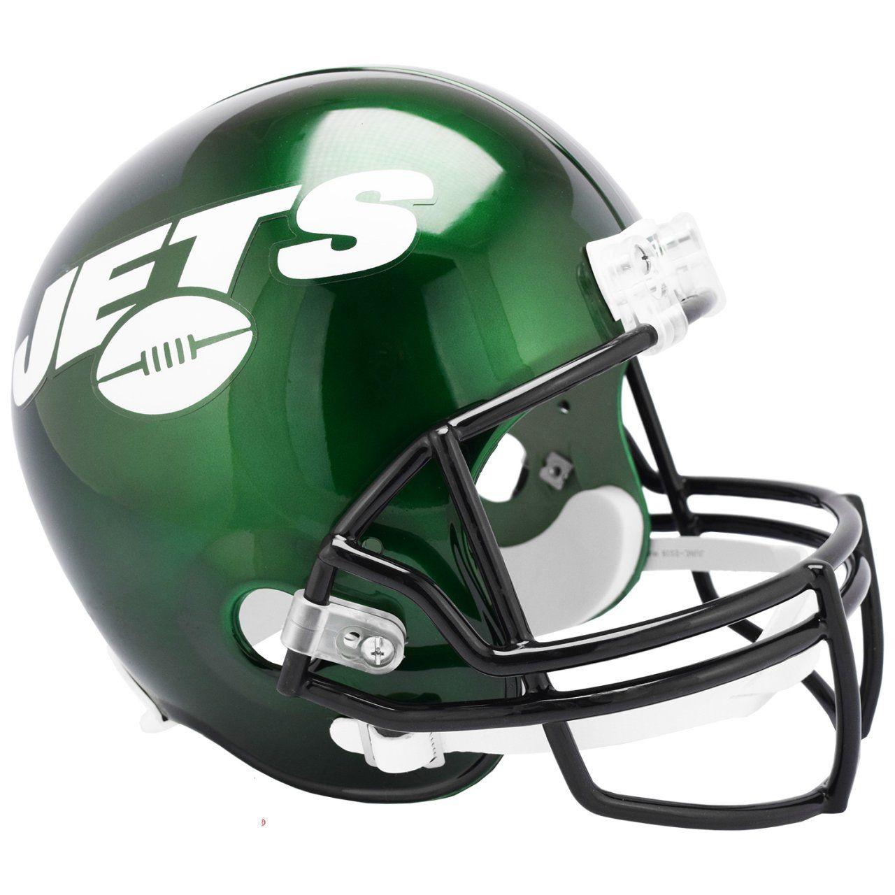 amfoo - Riddell VSR4 Replica Football Helm - NFL New York Jets