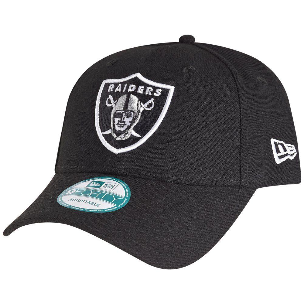 amfoo - New Era 9Forty Cap - NFL LEAGUE Oakland Raiders schwarz