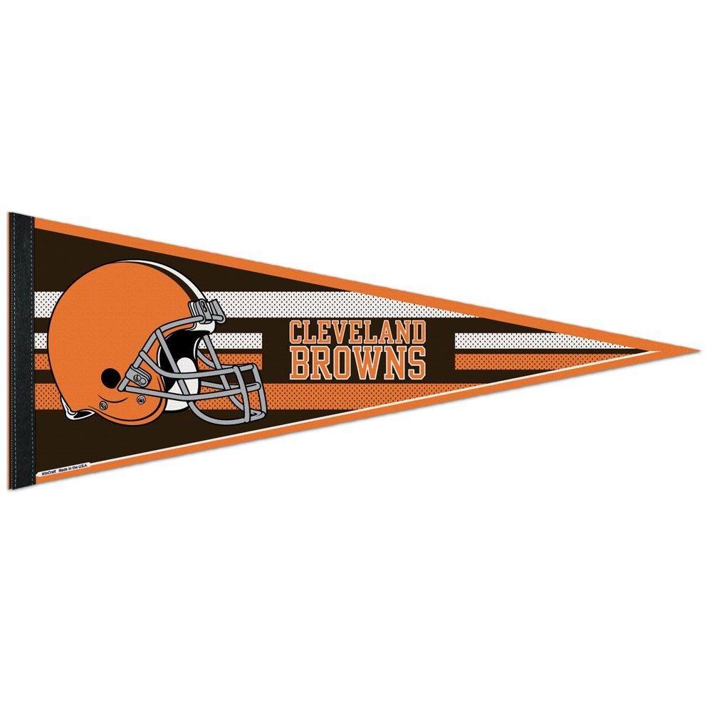 amfoo - Wincraft NFL Filz Wimpel 75x30cm - Cleveland Browns