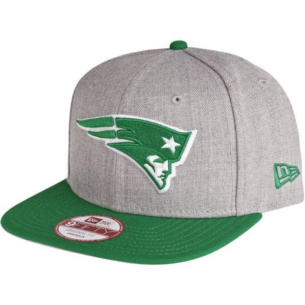 New Era Snapback Cap - New England Patriots grau / celtic