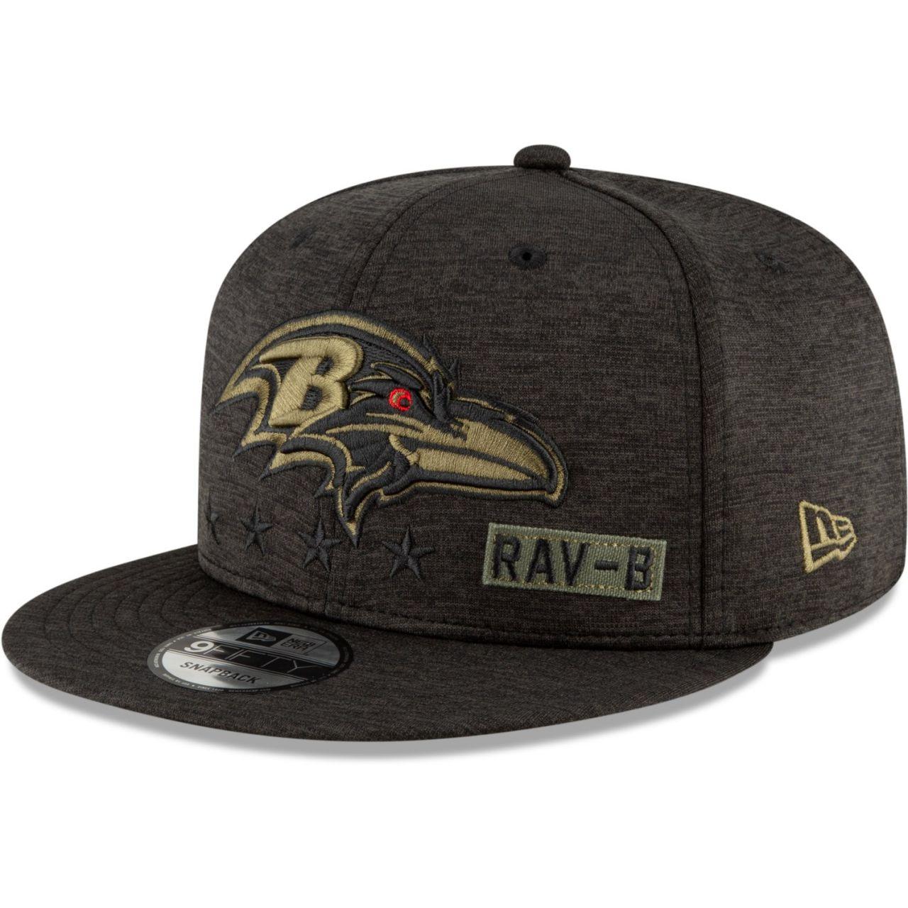 amfoo - New Era 9FIFTY Cap Salute to Service Baltimore Ravens