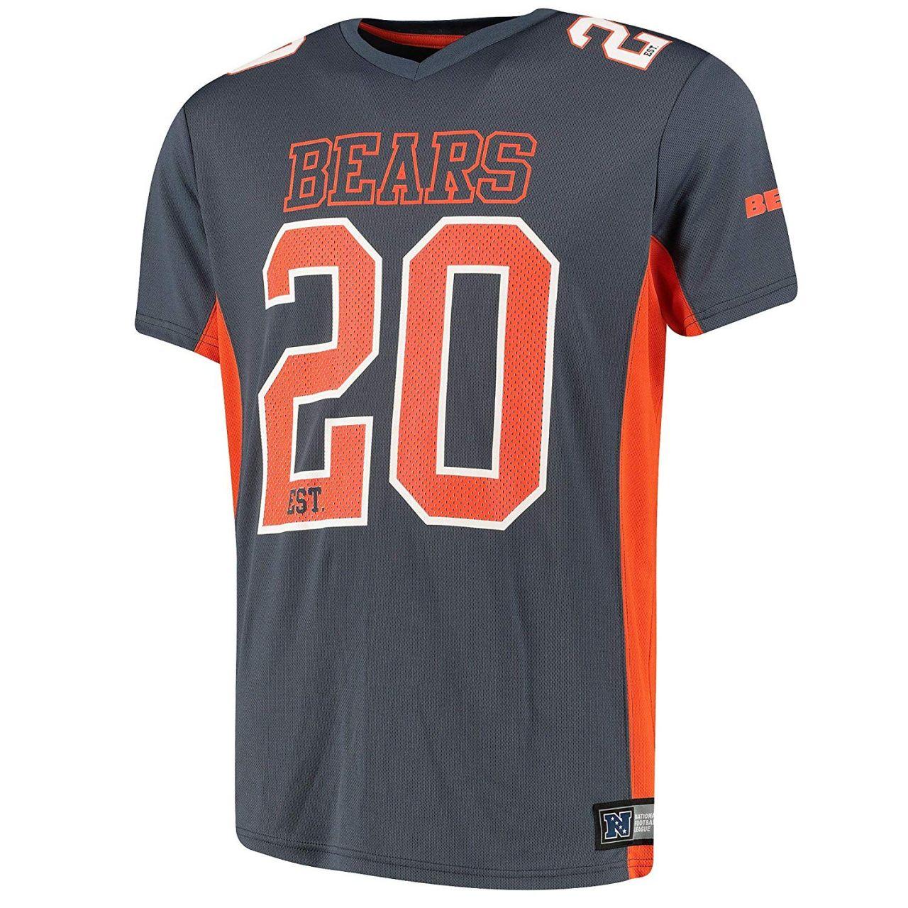 amfoo - Majestic NFL MORO Polymesh Jersey Shirt - Chicago Bears