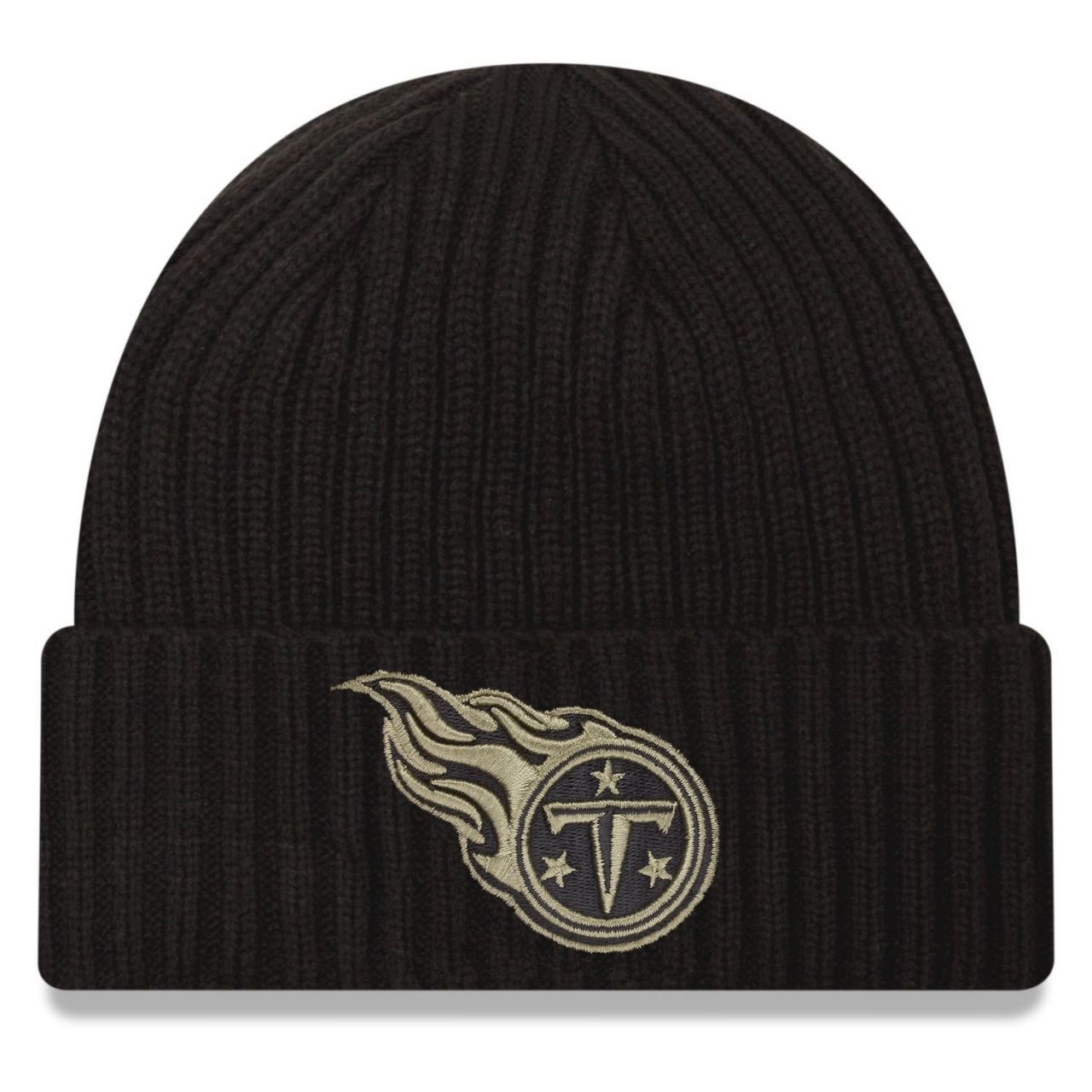amfoo - New Era Salute to Service Wintermütze - Tennessee Titans