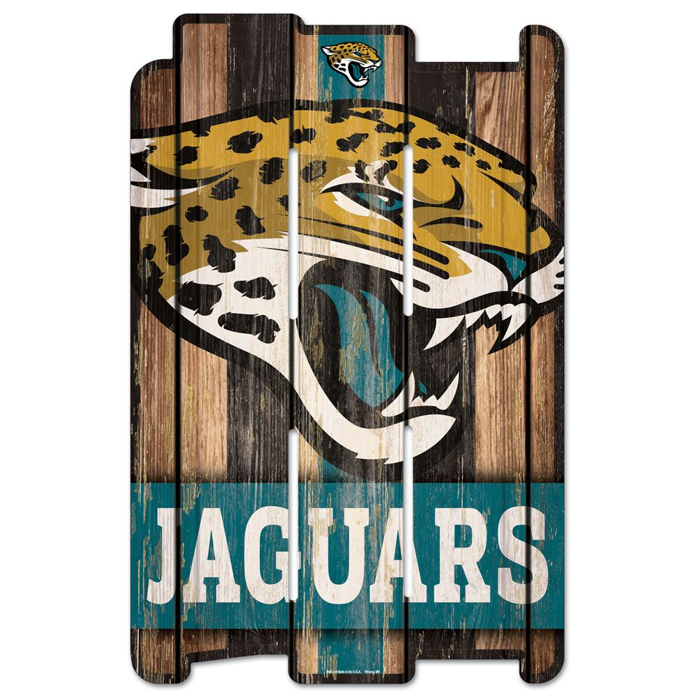 amfoo - Wincraft PLANK Holzschild Wood Sign - Jacksonville Jaguars