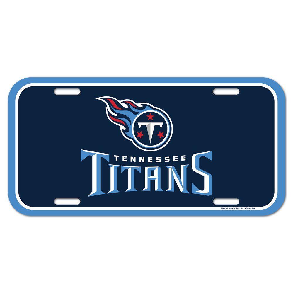 amfoo - Wincraft NFL Kennzeichenschild - Tennessee Titans