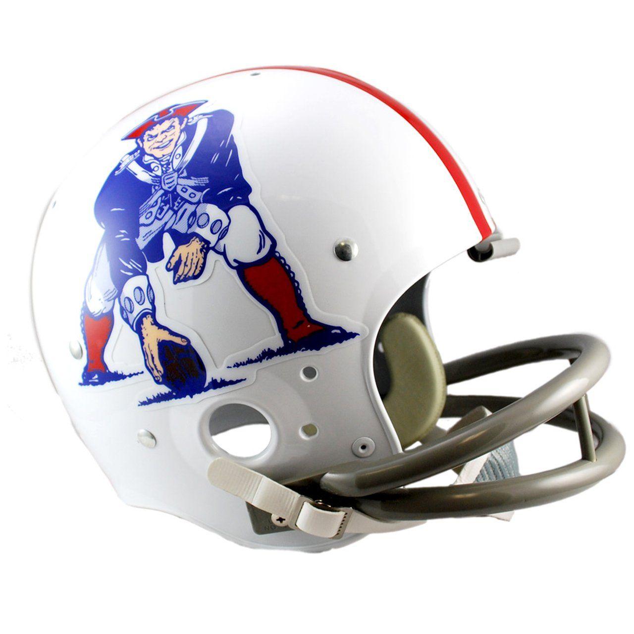 amfoo - Riddell TK Replica Football Helm - New England Patriots 1961