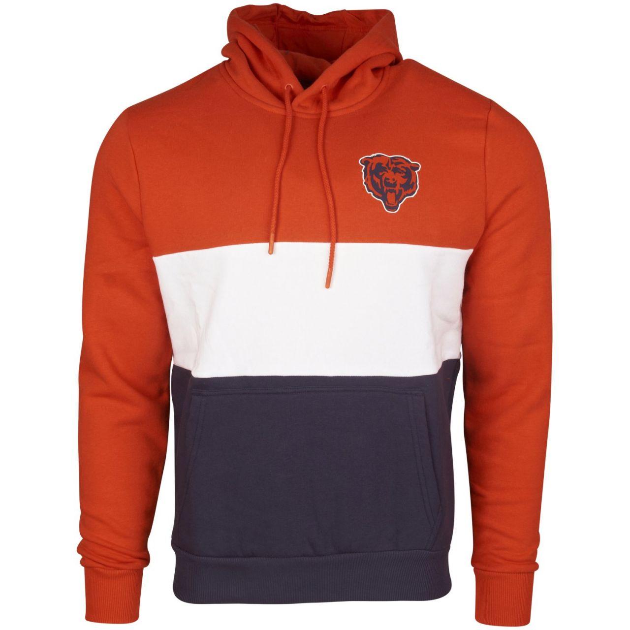 amfoo - New Era COLOUR BLOCK Hoody - NFL Chicago Bears