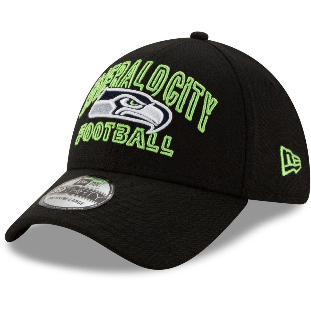 amfoo - New Era 39Thirty Cap - NFL 2020 DRAFT Seattle Seahawks