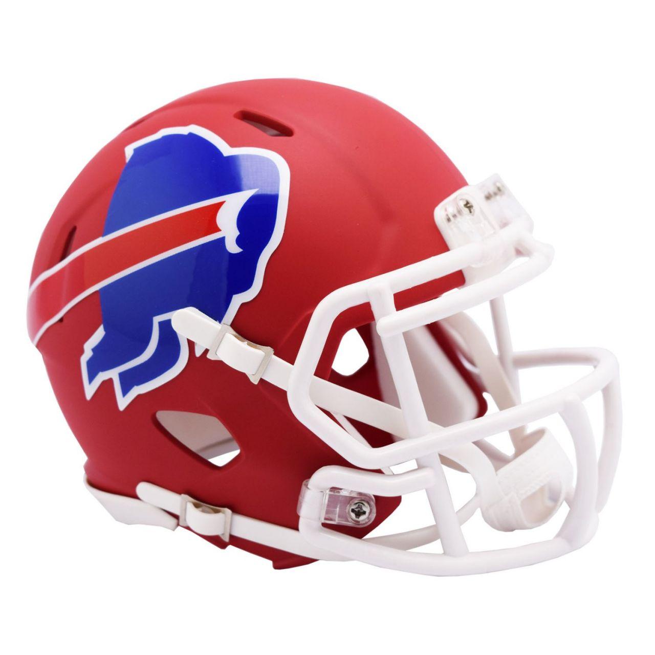 amfoo - Riddell Speed Mini Football Helm - NFL AMP Buffalo Bills