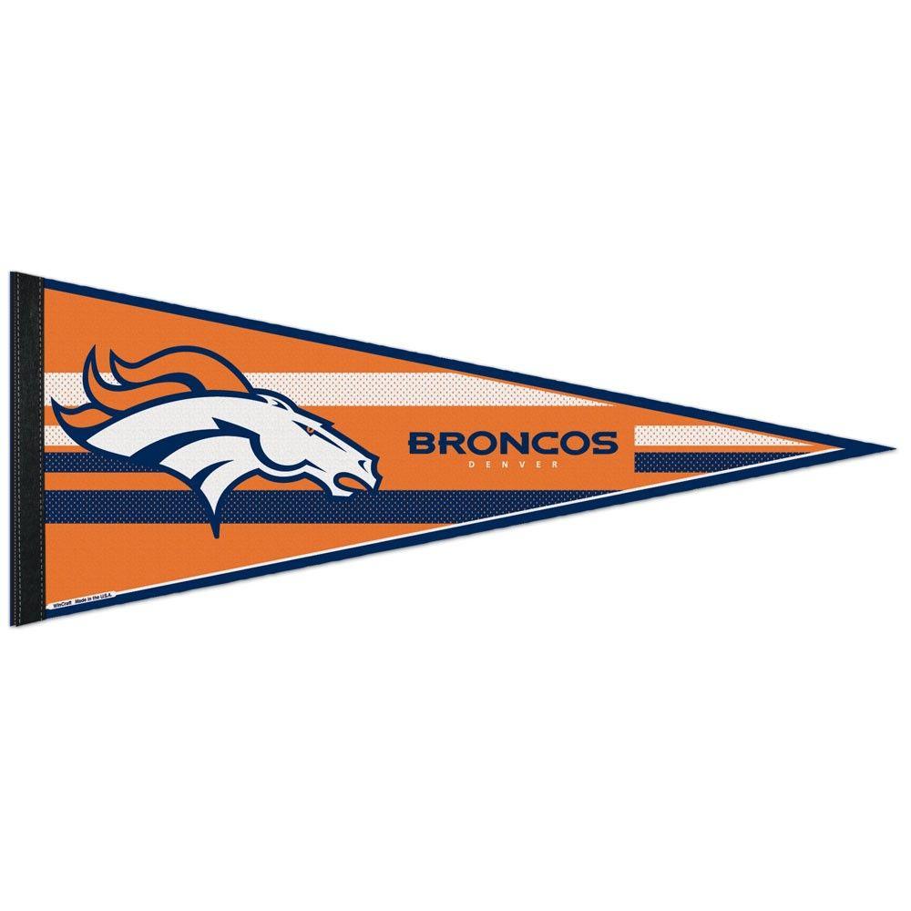 amfoo - Wincraft NFL Filz Wimpel 75x30cm - Denver Broncos