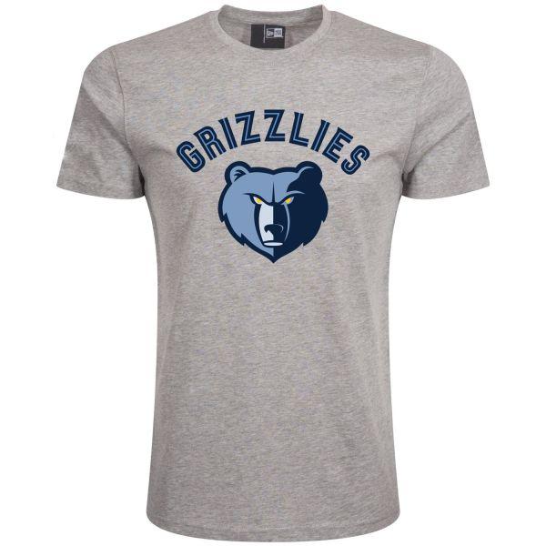 New Era Basic Shirt - NBA Memphis Grizzlies grau