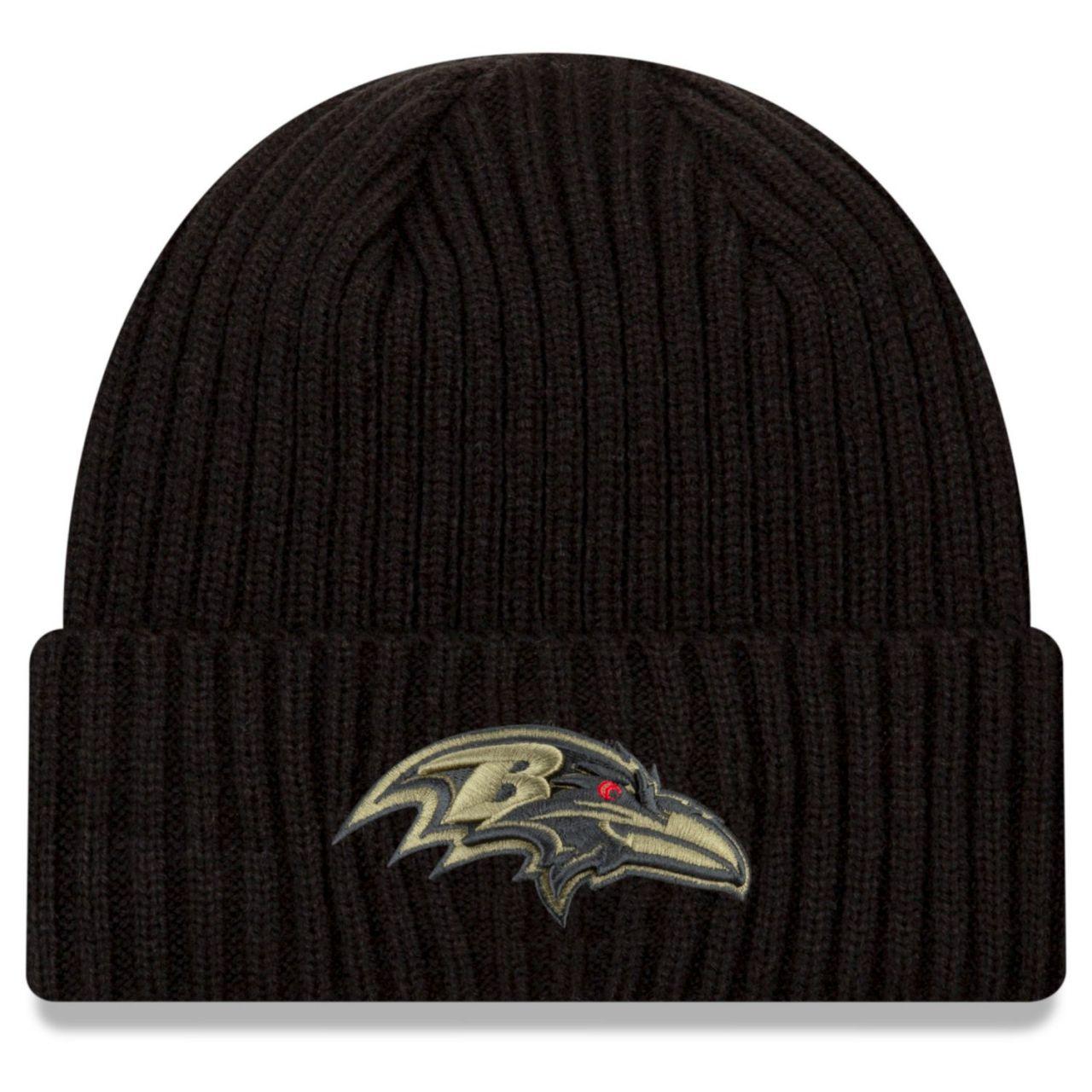 amfoo - New Era Salute to Service Wintermütze - Baltimore Ravens