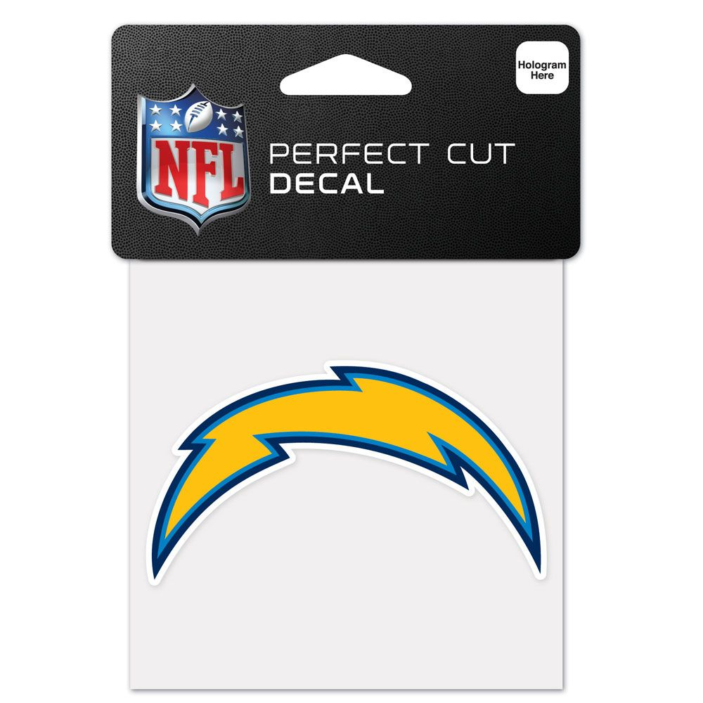 amfoo - Wincraft Aufkleber 10x10cm - NFL Los Angeles Chargers
