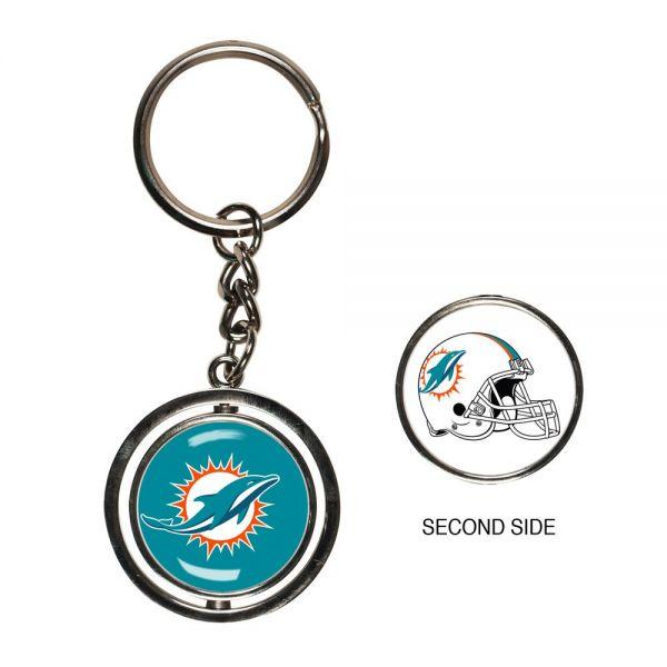 Wincraft SPINNER Schlüsselanhänger - NFL Miami Dolphins