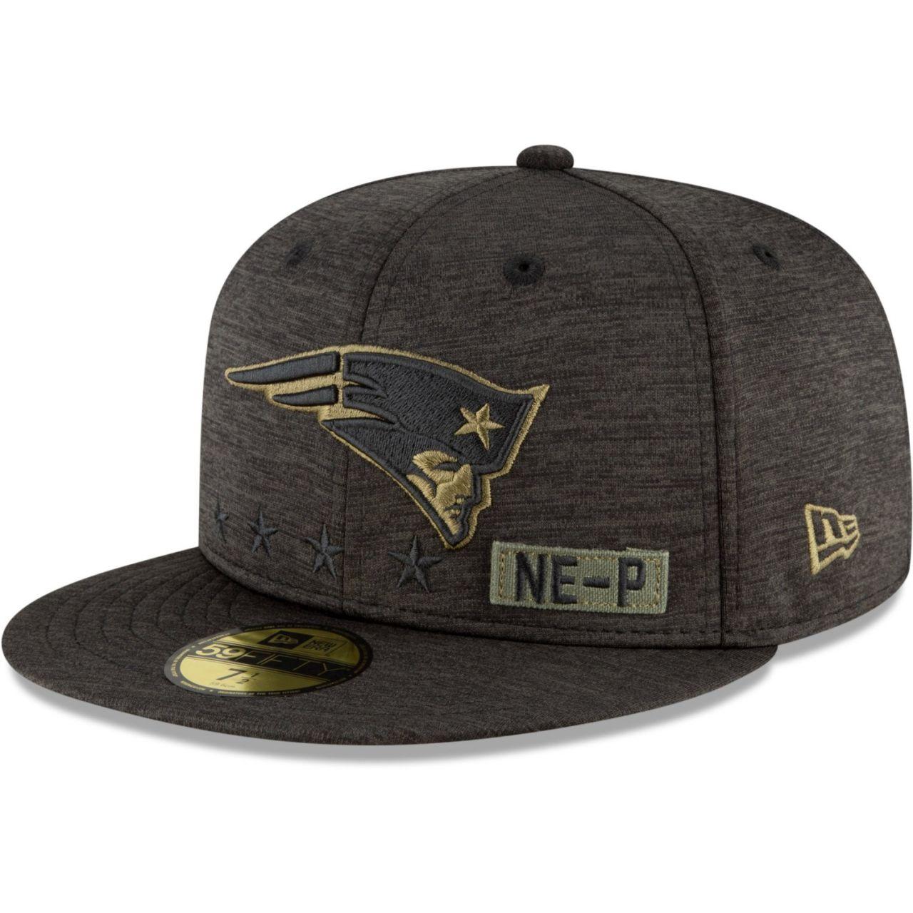 amfoo - New Era 59FIFTY Cap Salute to Service New England Patriots