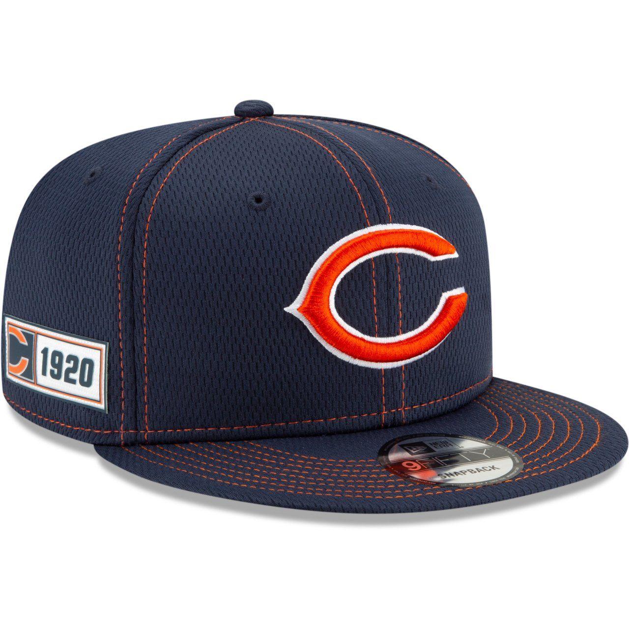 amfoo - New Era 9Fifty Sideline Snapback Cap - Chicago Bears 1920