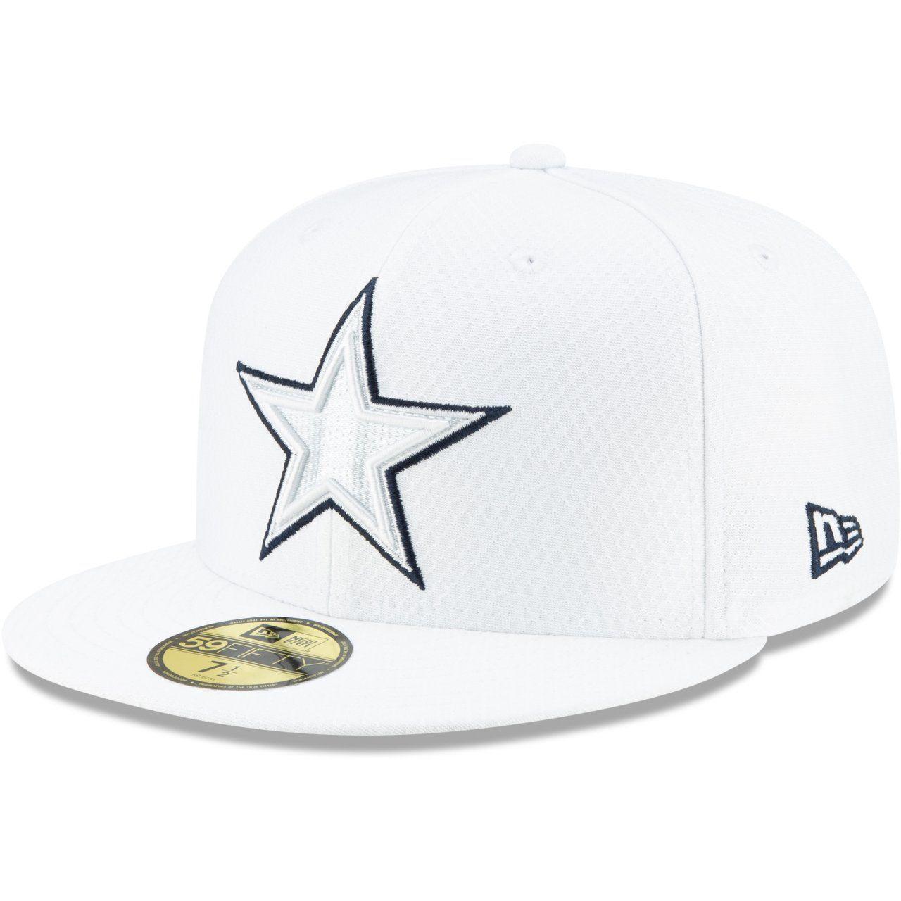 amfoo - New Era 59Fifty Cap - PLATINUM Sideline NFL Dallas Cowboys
