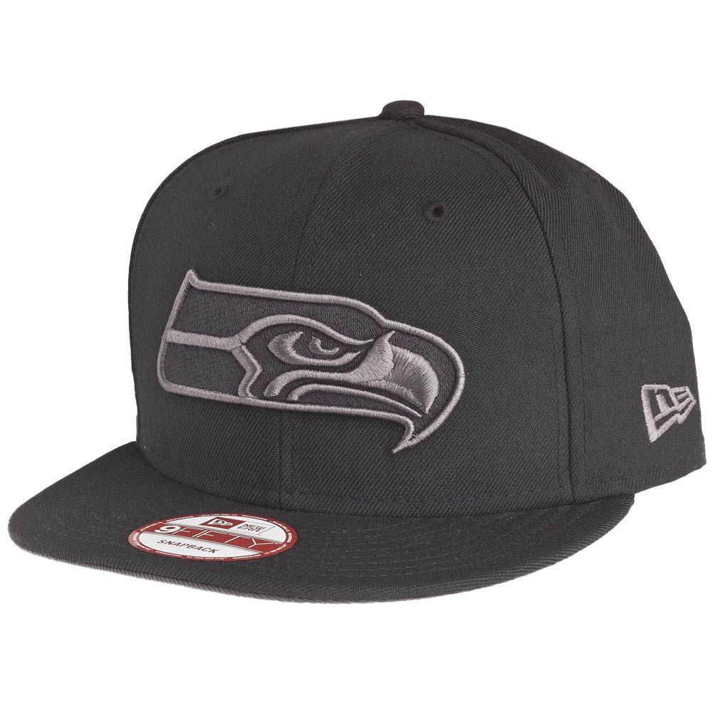 New Era 9Fifty Snapback Cap - Seattle Seahawks schwarz