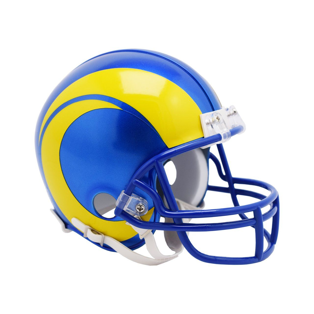 amfoo - Riddell VSR4 Mini Football Helm - NFL Los Angeles Rams