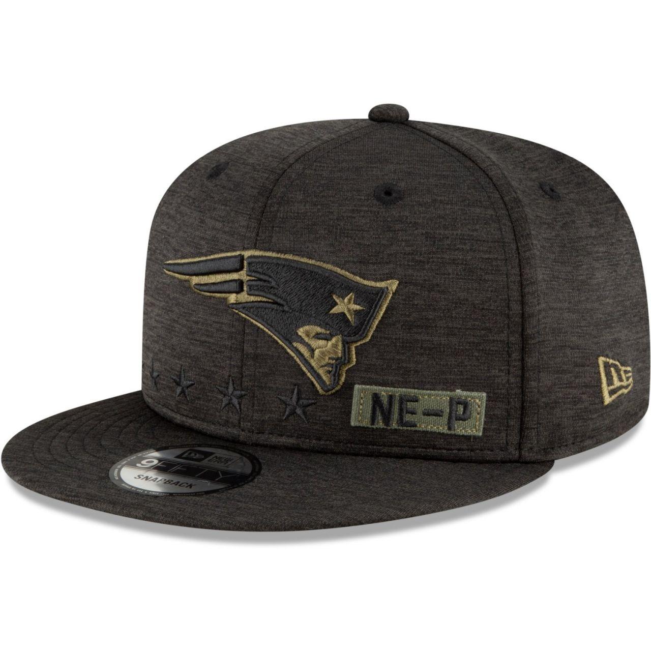 amfoo - New Era 9FIFTY Cap Salute to Service New England Patriots
